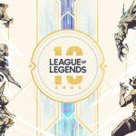 League of Legends: Comemoração de 10 anos traz muitas novidades e recompensas para os Jogadores!