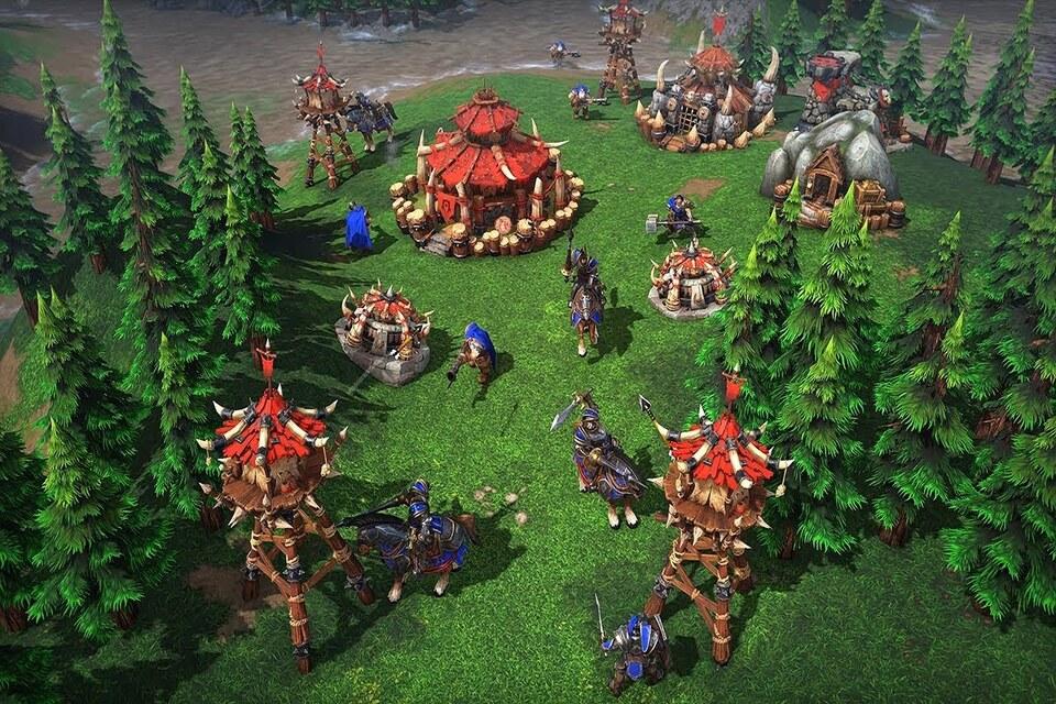 Reações negativas Warcraft 3: Reforged