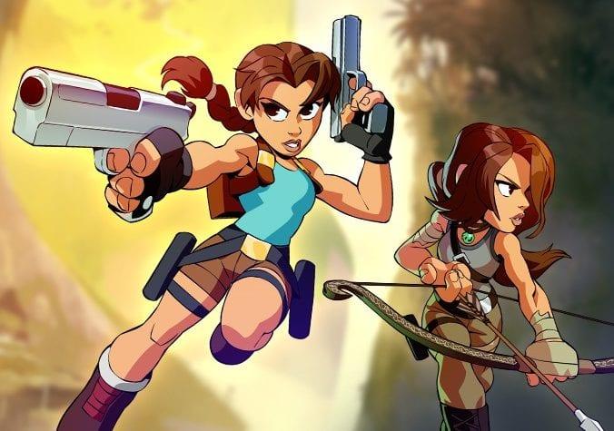 Lara Croft em Brawlhalla