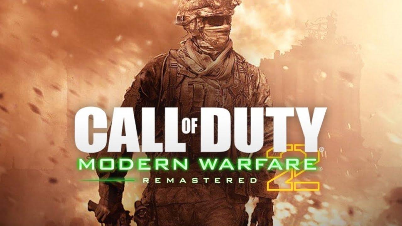 versão remaster de Call of Duty Modern Warfare 2