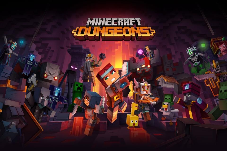 Minecraft Dungeons e Wasteland 3
