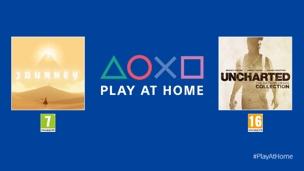 Uncharted e Journey, via Play At Home