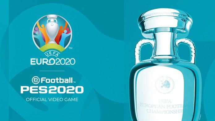 DLC Euro 2020 para eFootball PES 2020