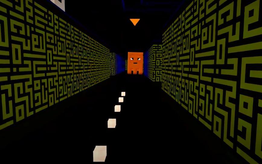 Pac-Man em Minecraft