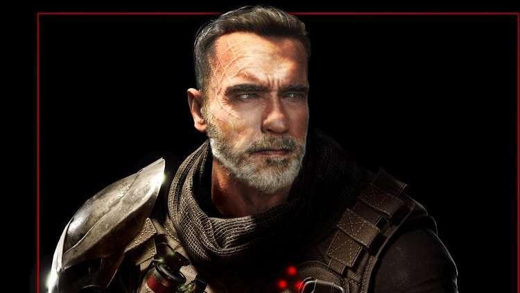Arnold Schwarzenegger em Predator Hunting Grounds