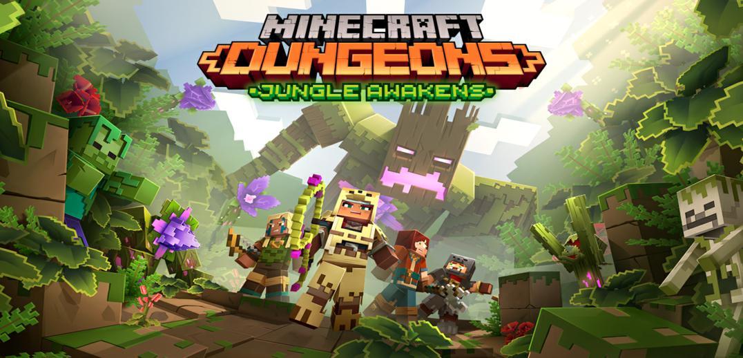 Jungle Awakens Minecraft Dungeons