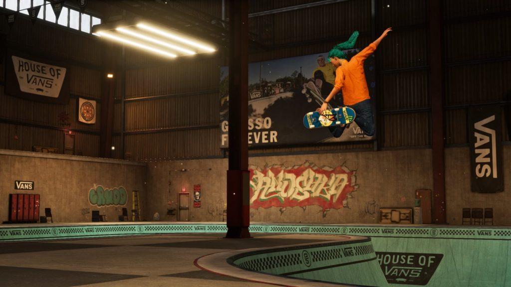 Novos Skatistas em Tony Hawk's Pro Skater 1+2