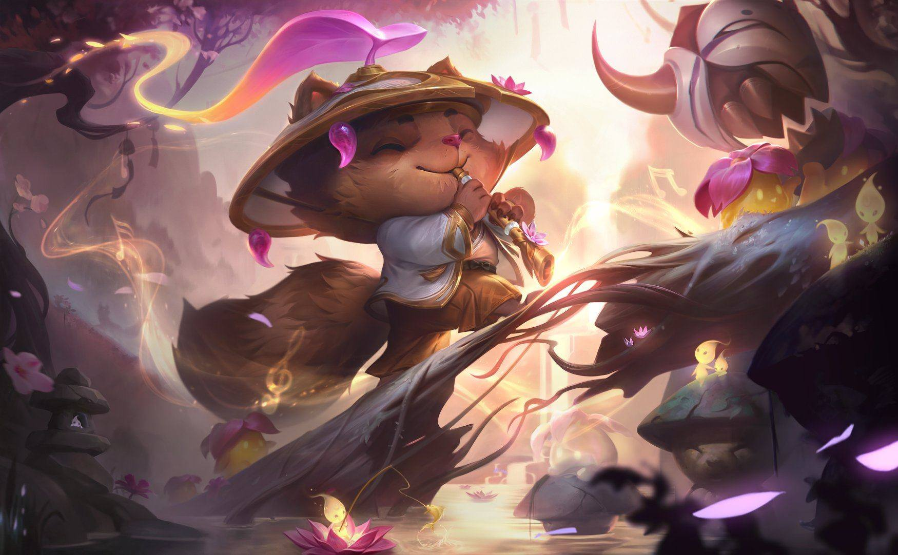Teemo Spirit Bloom prestígio