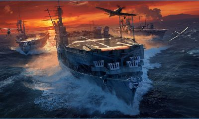 World of Warships navios alemães