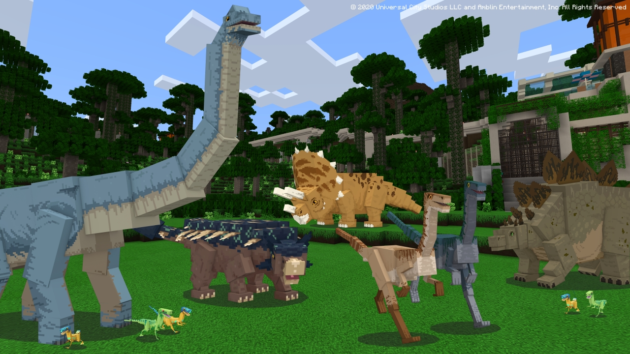 Jurassic World no Minecraft