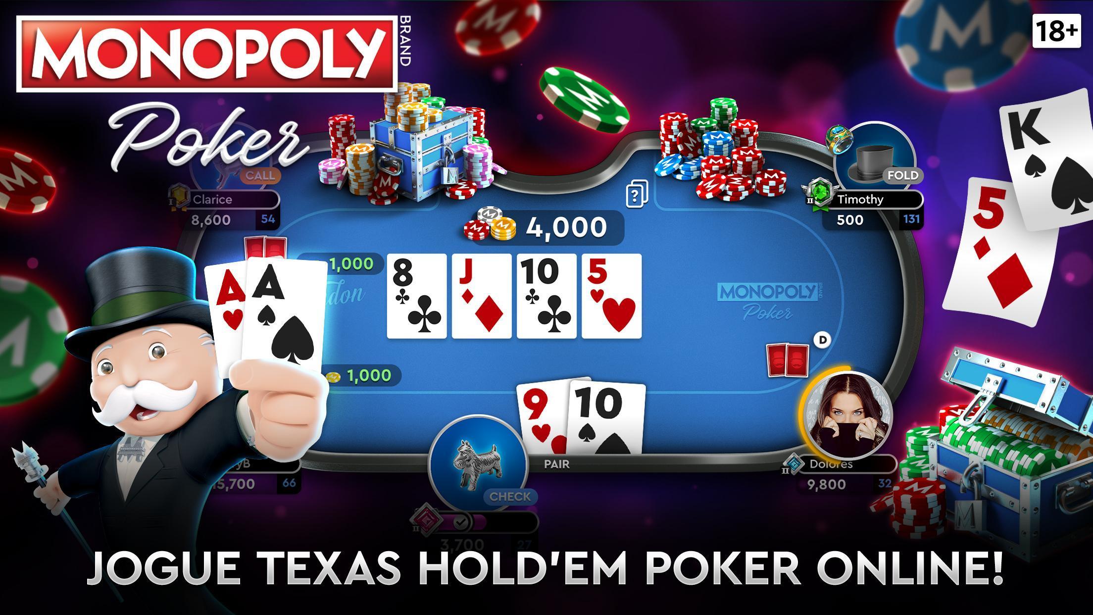Monopoly Poker para celular