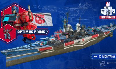 Transformers em World of Warships