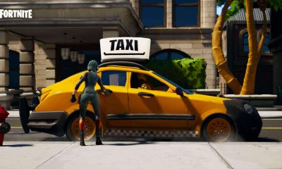 Tilted Taxis de Fortnite