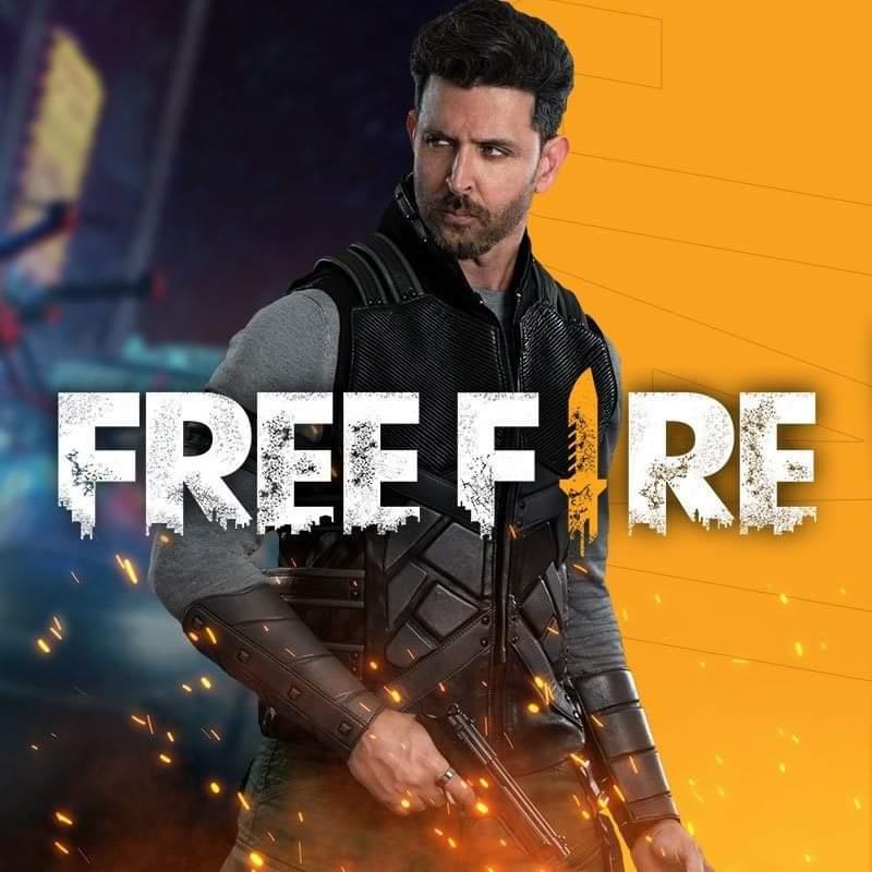 Hrithik Roshan Free Fire
