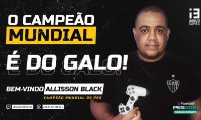 Campeão mundial vai representar o Atlético no PES