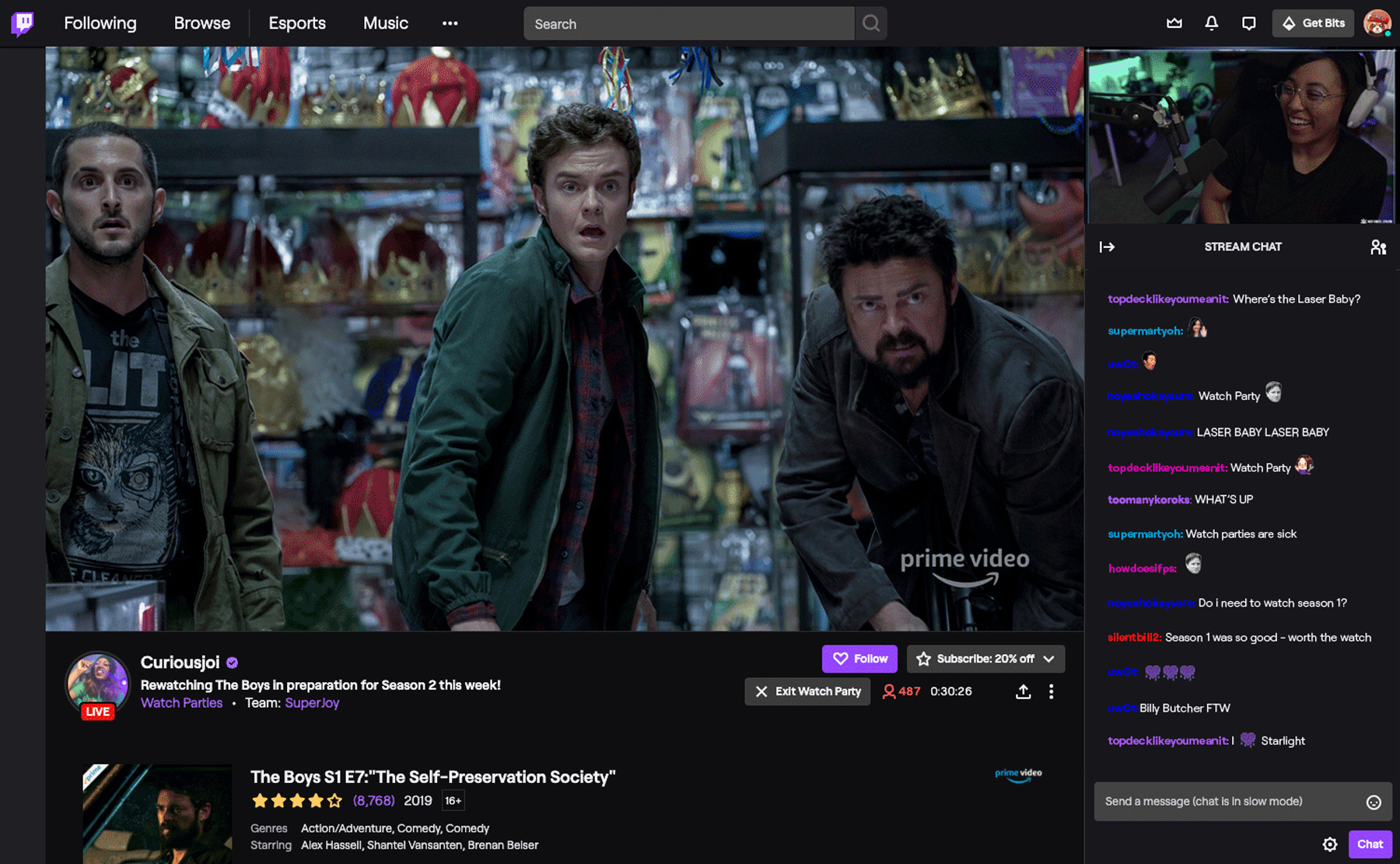 Twitch com Watch Parties