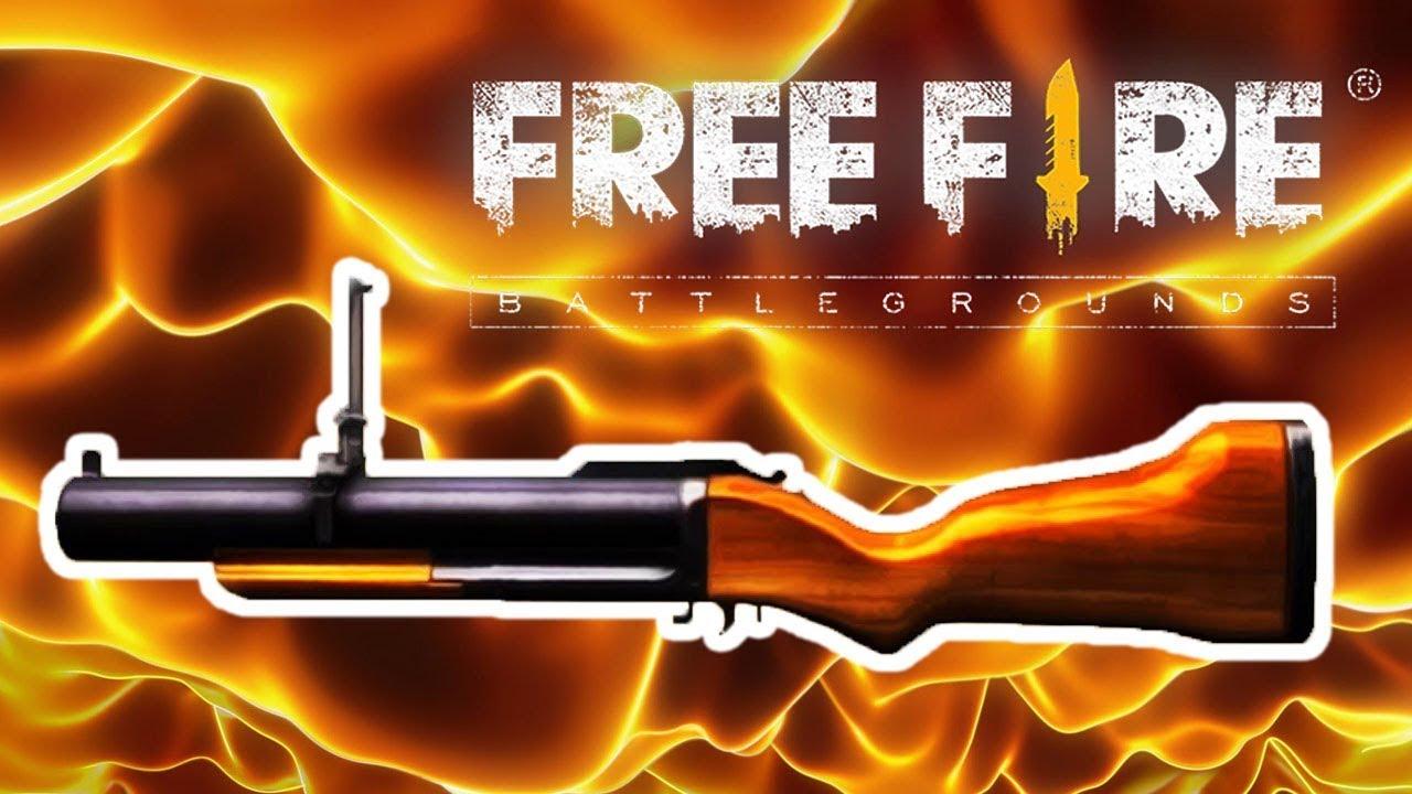 lança granadas free fire