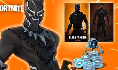 Fortnite recebe estátua de Pantera Negra