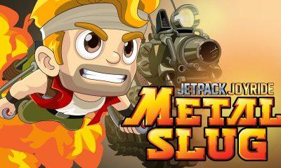 Metal Slug terá crossover em Jetpack Joyride por tempo limitado
