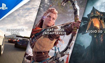 O novo comercial do PS5