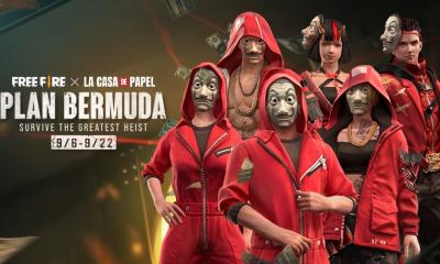 Free Fire: Evento de La Casa de Papel