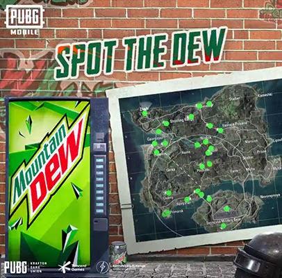 Mountain Dew PUBG