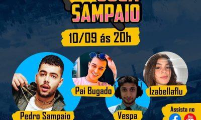 Pedro Sampaio vai jogar PUBG MOBILE
