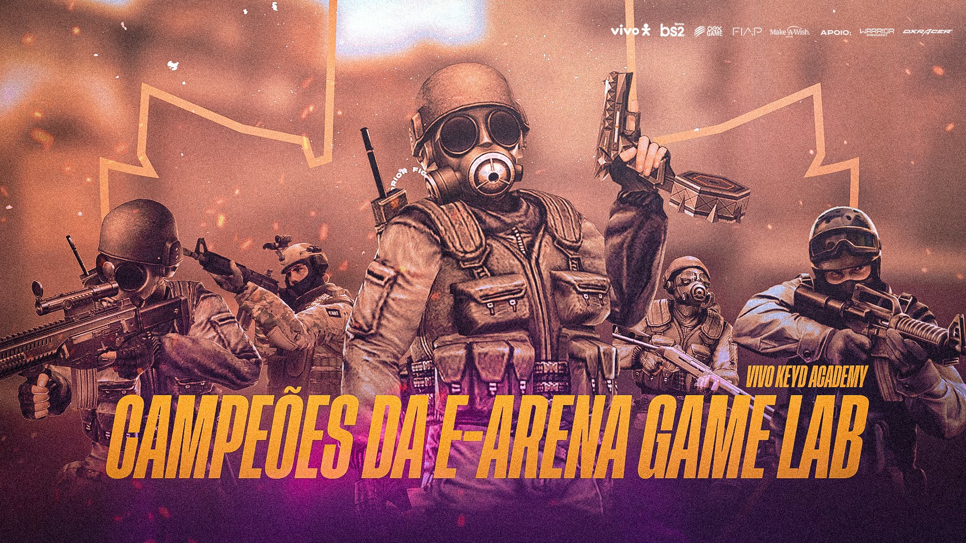 Vivo Keyd Academy vence o E-Arena Game Lab