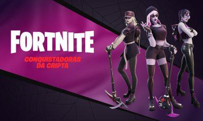 Fortnite anuncia um novo pacote de skins da Cripta
