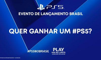 Playstation Brasil anuncia sorteio de PS5