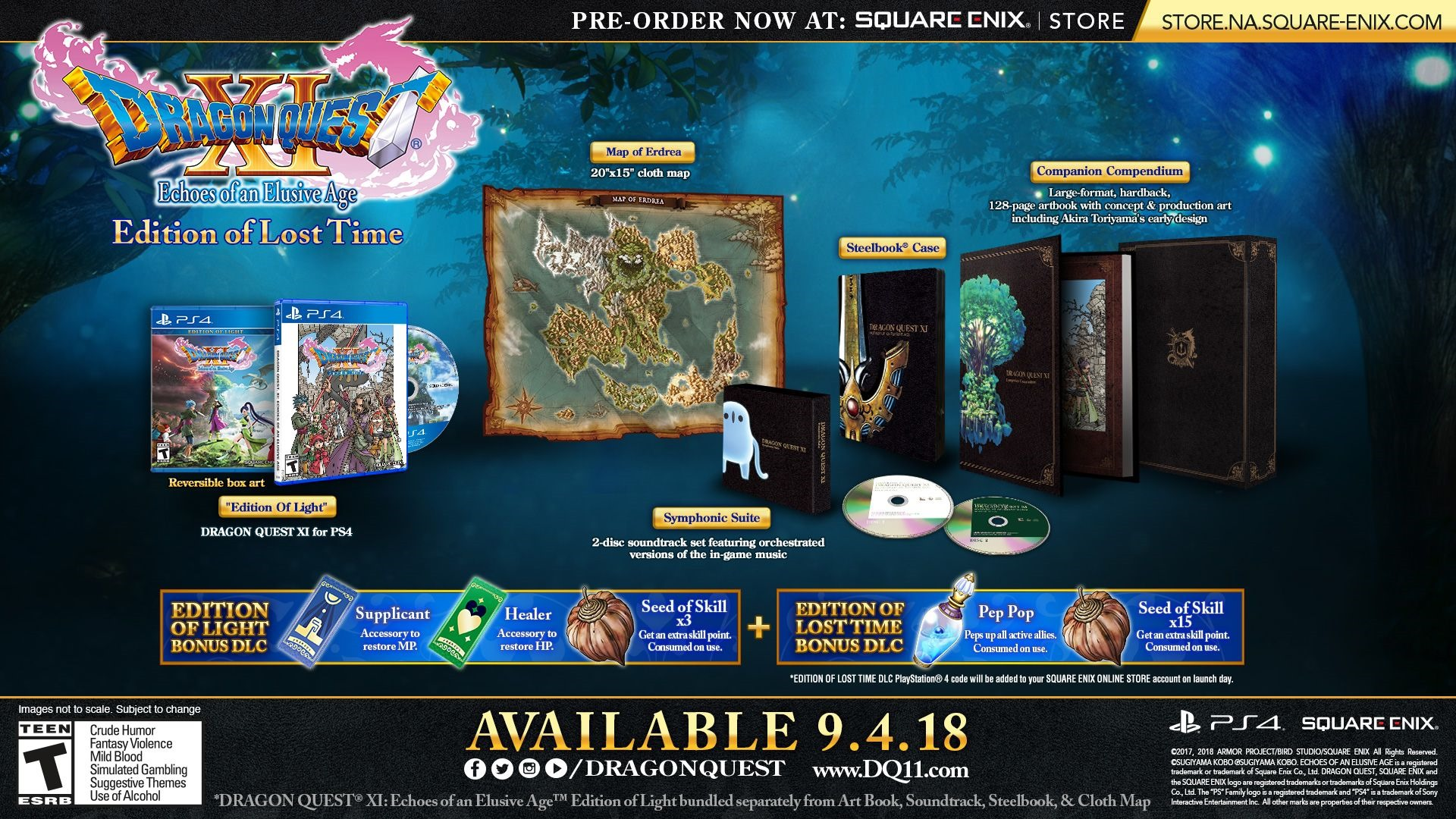 Dragon Quest XI S: Echoes of a Lost Age – Definitive Edition (Demo)