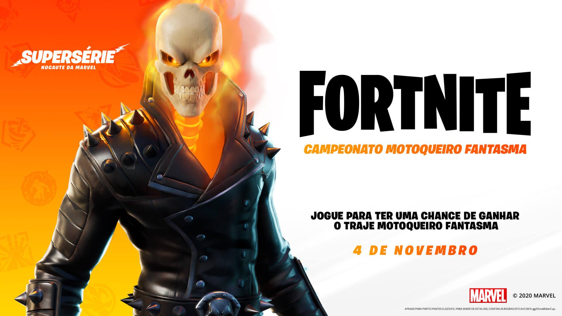 Motoqueiro Fantasma Fortnite