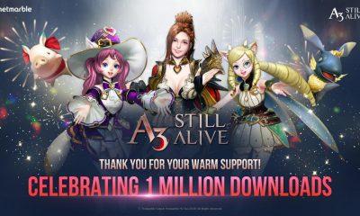 A3: Still Alive chega a 1 milhão de downloads em uma semana