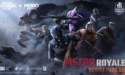 PUBG MOBILE lança Royale Pass em parceria com Metro Exodus