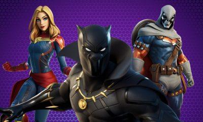 Fortnite agora tem skins do Pantera Negra, da Capitã Marvel e do Treinador