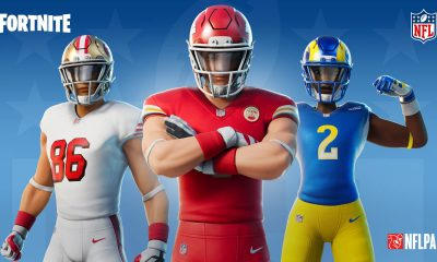 Uniformes de todos os times da NFL estão disponíveis em Fortnite