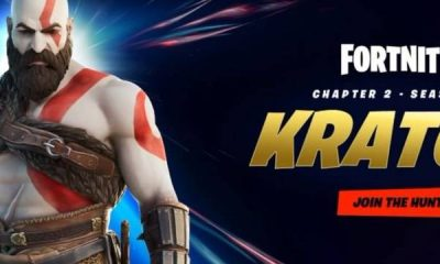 Kratos de God of War, pode ser a próxima skin do fortnite