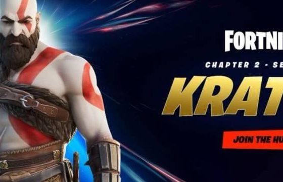 Kratos de God of War, pode ser a próxima skin do fortnite
