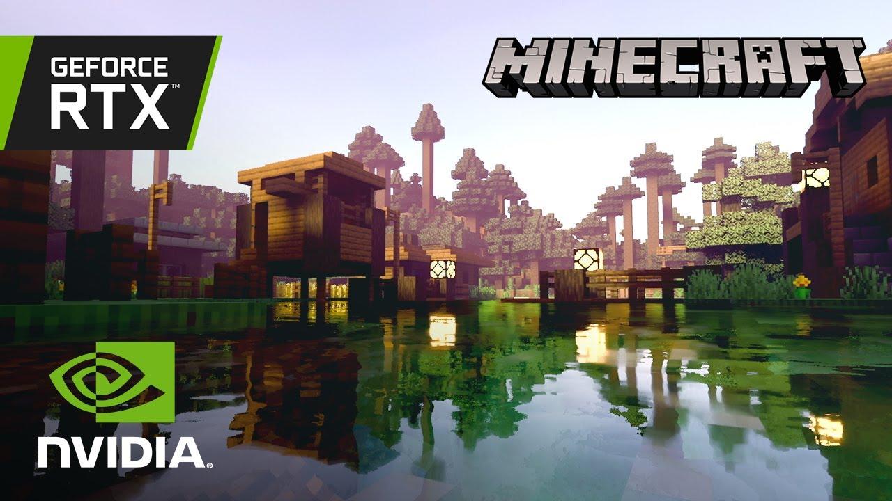 Minecraft agora é oficialmente #RTXON