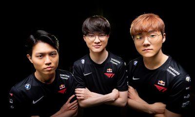 Maior campeã de LoL, T1 anuncia nova parceria global para todas as suas equipes