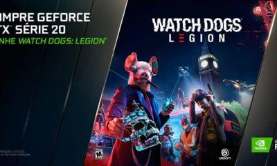 Promoção de Watch Dogs: Legion com placas GeForce
