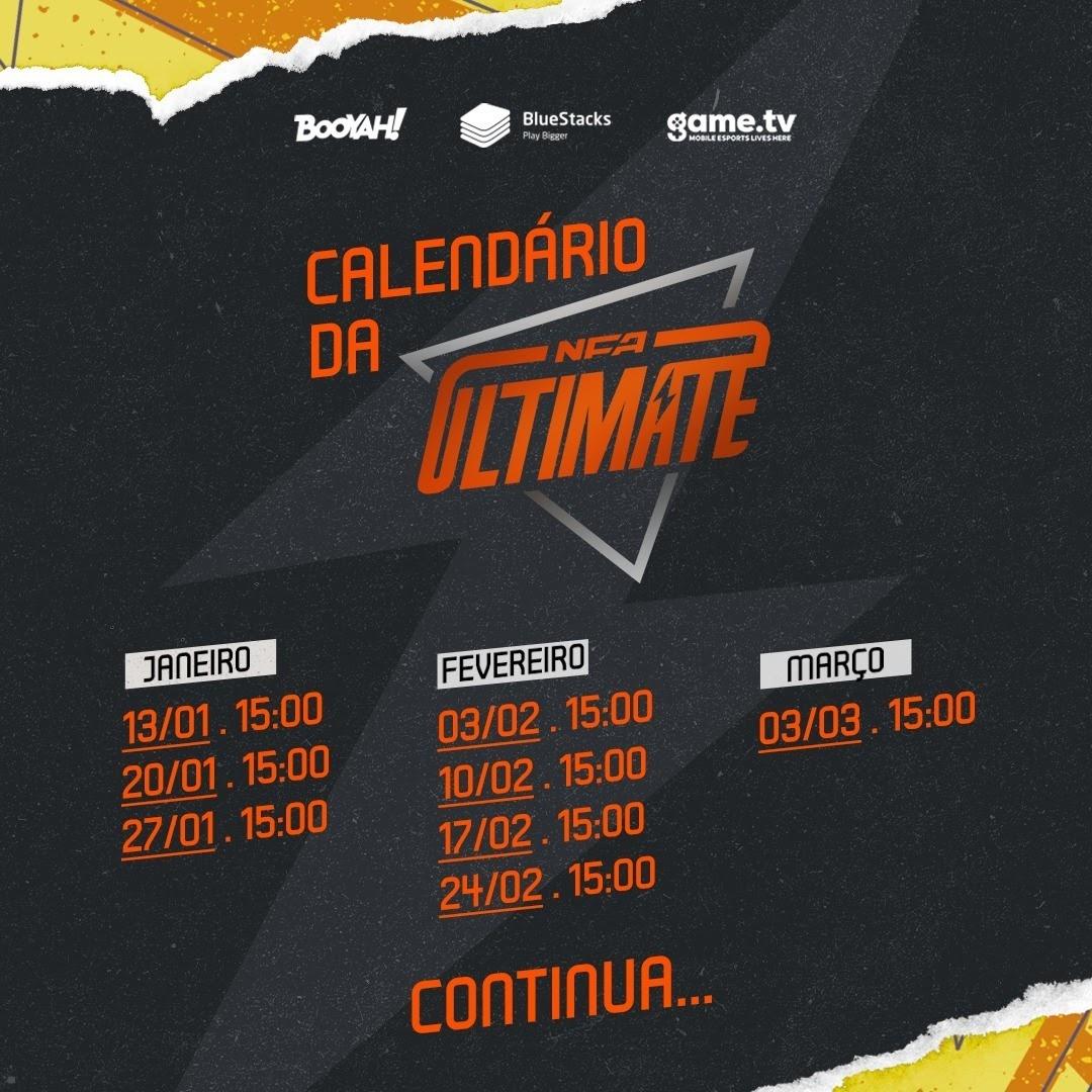 Calendário NFA Ultimate