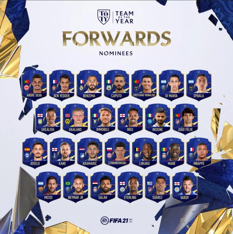 FIFA 21: Votação