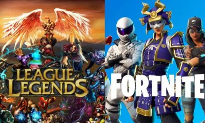 League of Legends e Fortnite