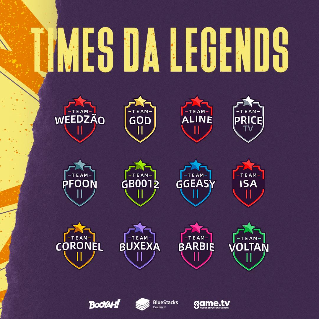 Times da NFA Legends