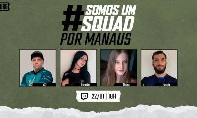 Somos um Squad: PUBG