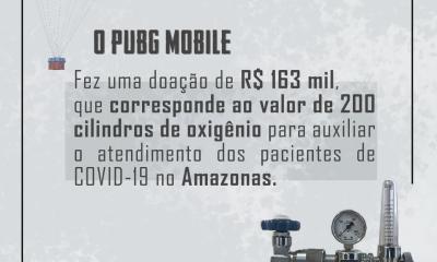 PUBG MOBILE doa R$ 163 mil para auxiliar no tratamento de pacientes dos hospitais do Amazonas