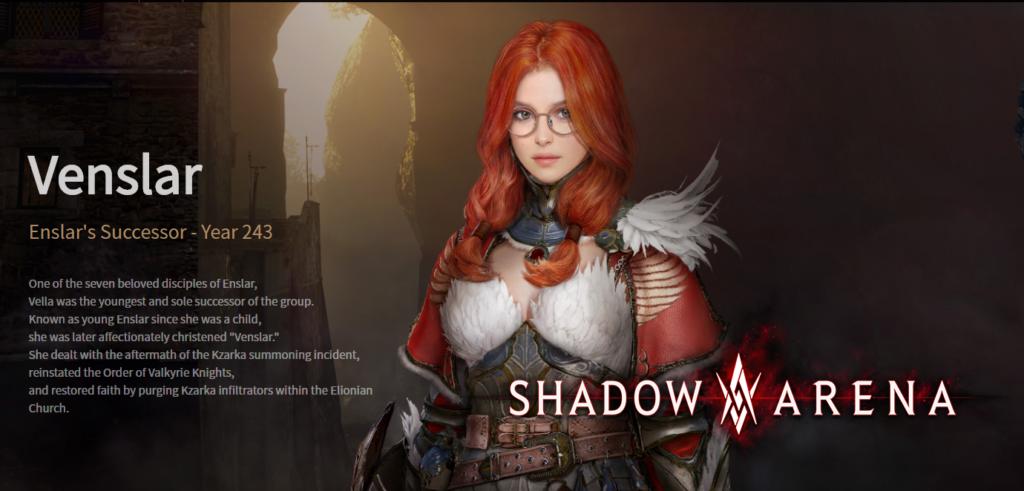 Venslar em Shadow Arena
