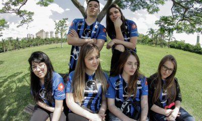 Equipe da FURIA é finalista da Grrrls League . Foto: Reprodução/Gui Caielli
