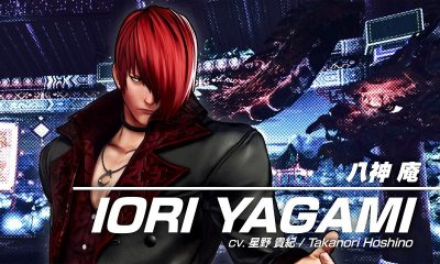 Iori Yagami em The King of Fighters XV